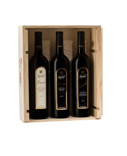2012 Kitchak 3 Bottle Set in Wood Box