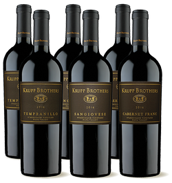 2016 Krupp Brothers Sangiovese, Tempranillo, Cabernet Franc
