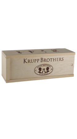 Krupp Brothers Wood Box 1 Bottle 1.5L