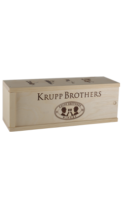 Krupp Brothers Wood Box 1 Bottle 3L
