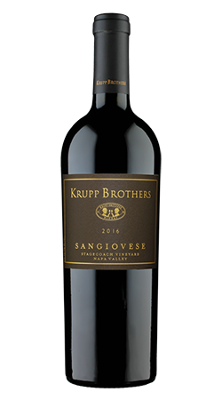 2016 Krupp Brothers Sangiovese