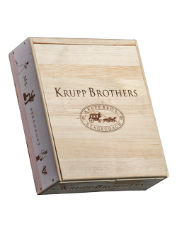 3 Bottle Krupp Brothers Collector's Box